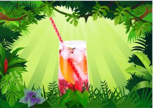 Jungle Juice in the Jungle!