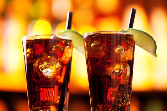 photo of two long island iced tea drinks