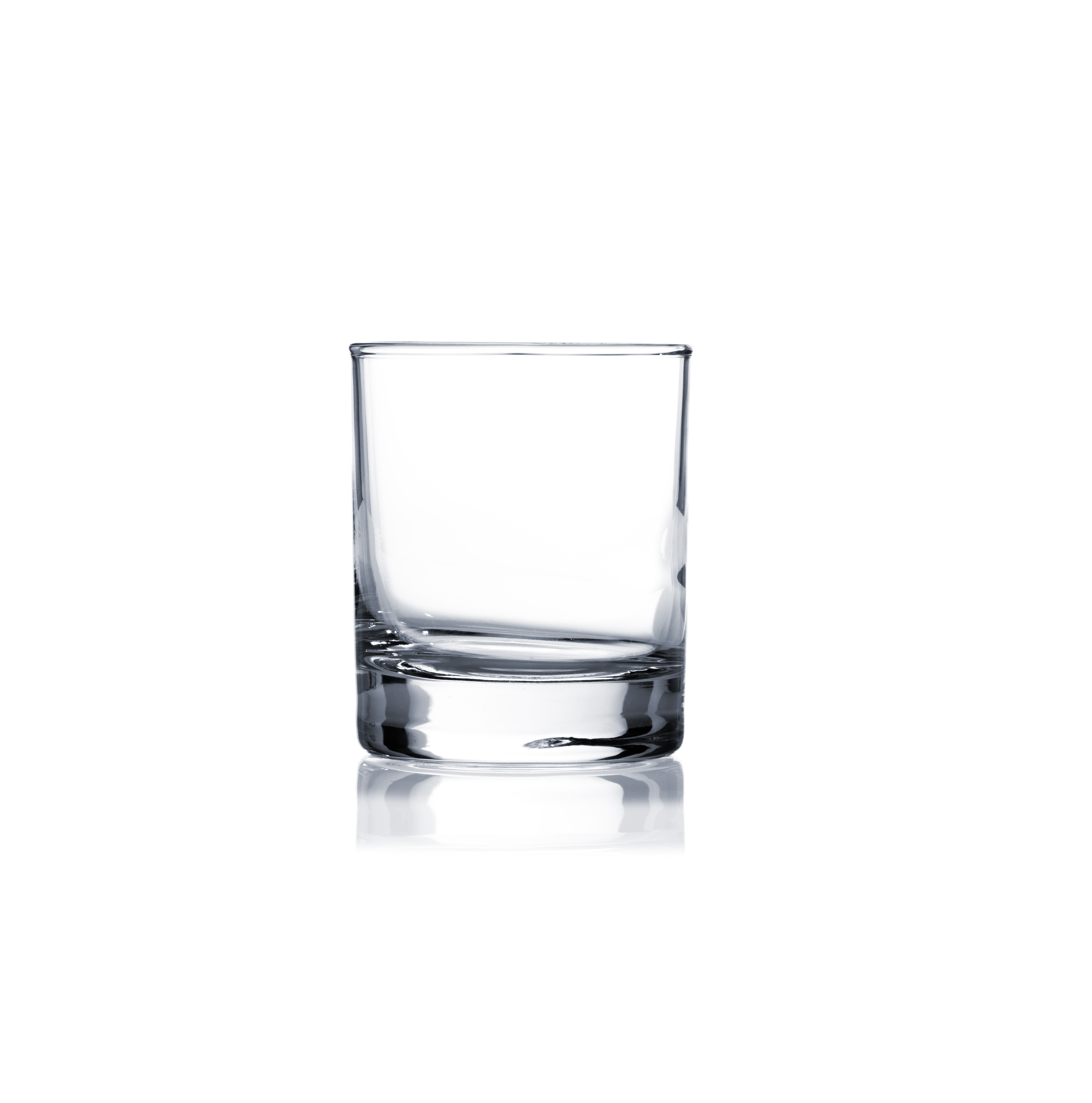 empty rocks glass